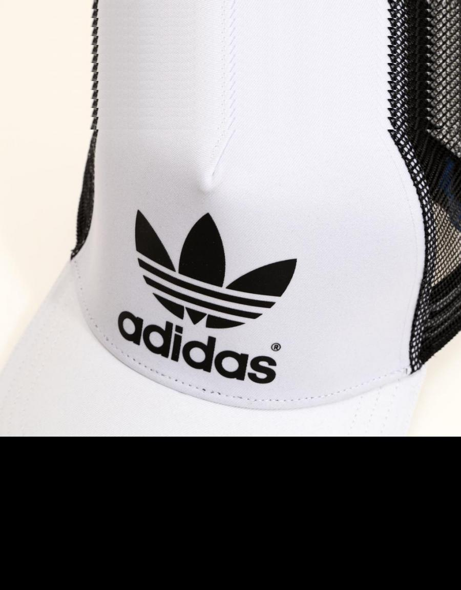 gorra adidas trucker blanca 4078242da40