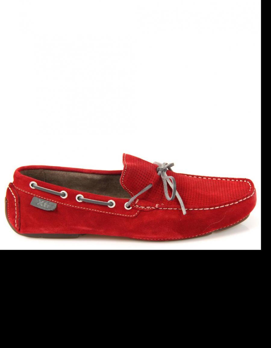 Zapatos rojos Xti para hombre EoFRSQQMgL