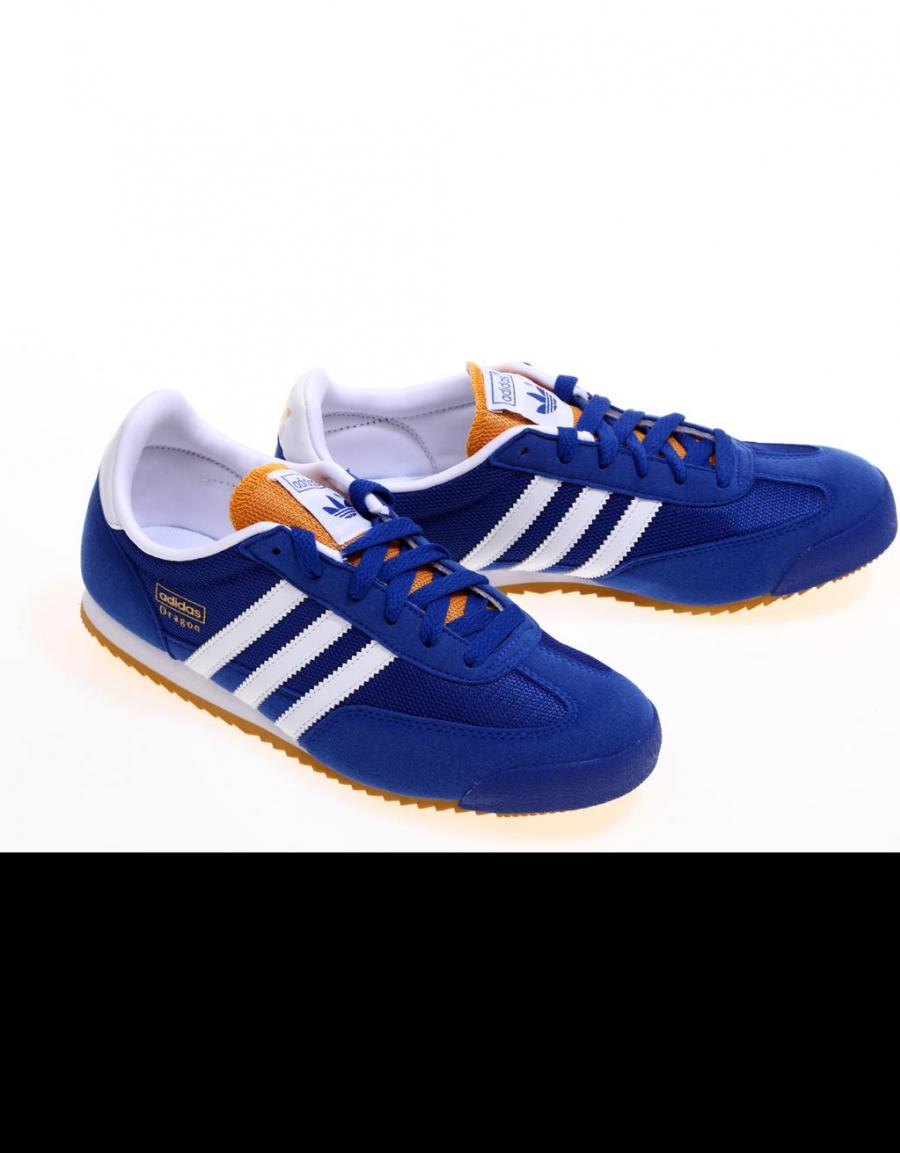 zapatillas adidas dragon mujer azul