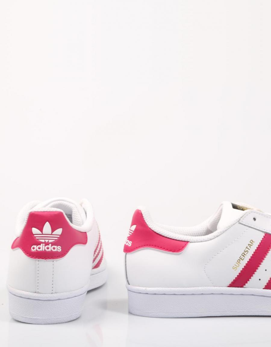 Adidas Superstar Fucsia Con Blanco