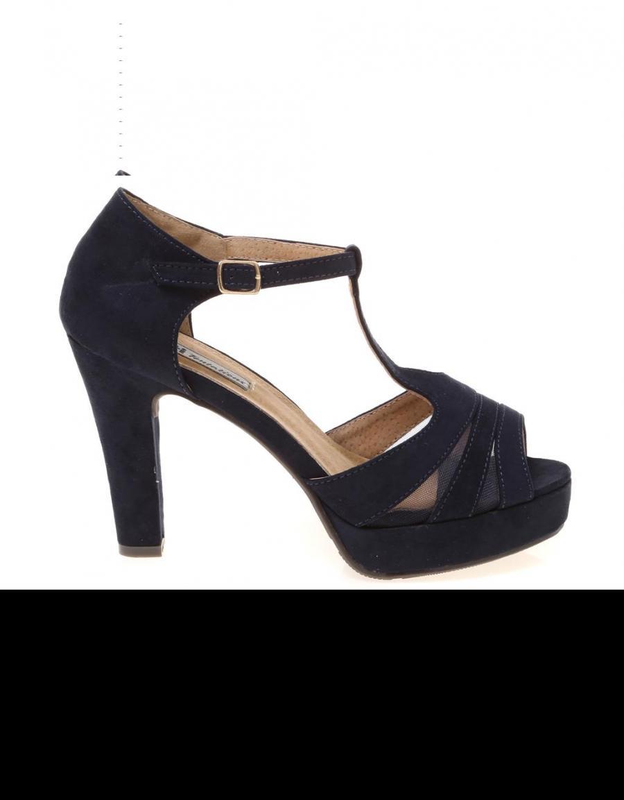 Zapatos azul marino Xti para mujer 8S9cL
