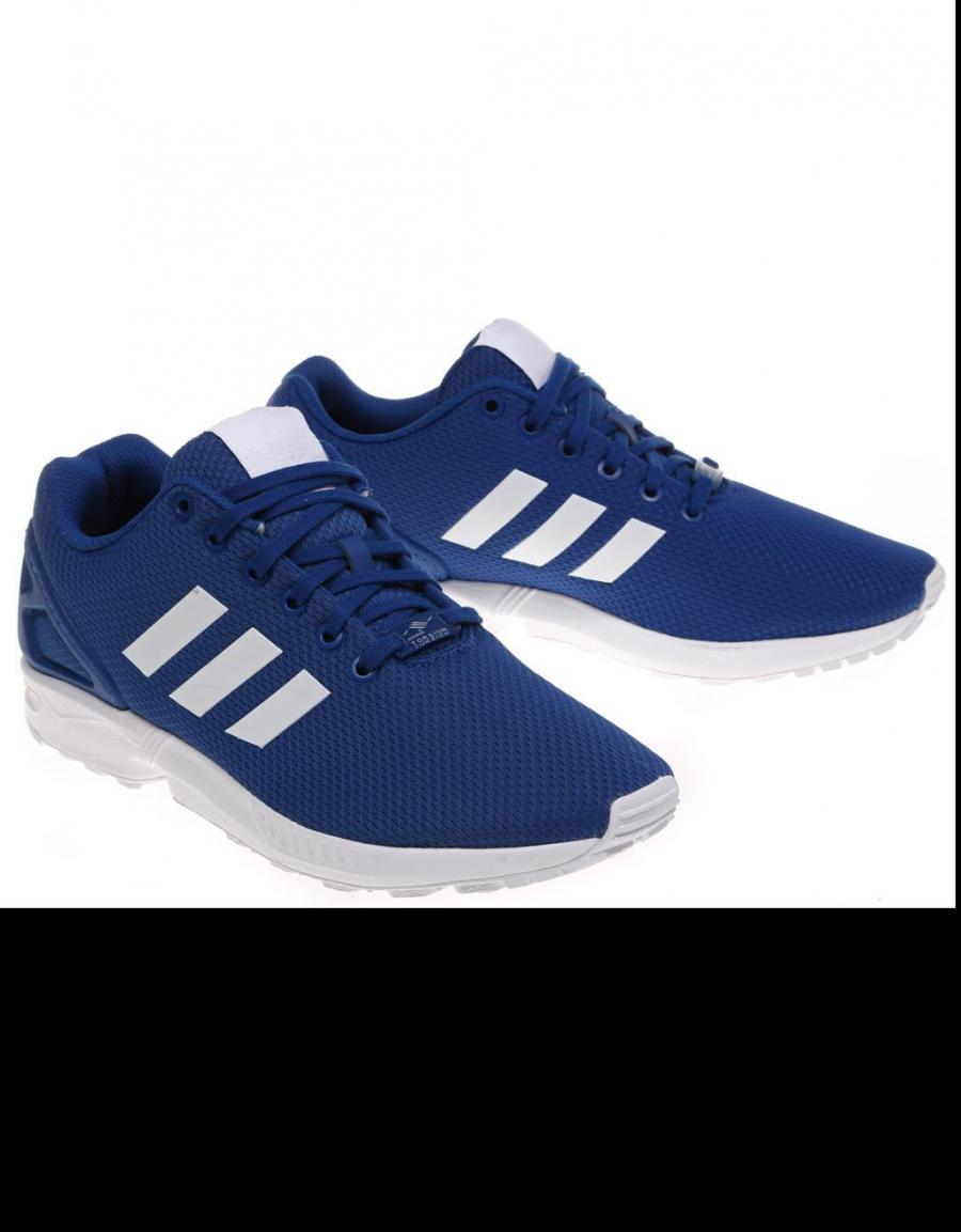 zapatillas adidas zx flux azul