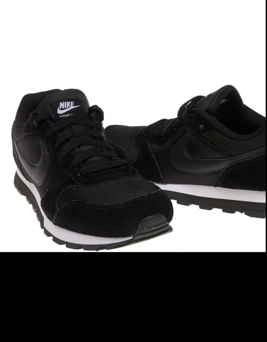 zapatillas nike md runner 2 negro mujer