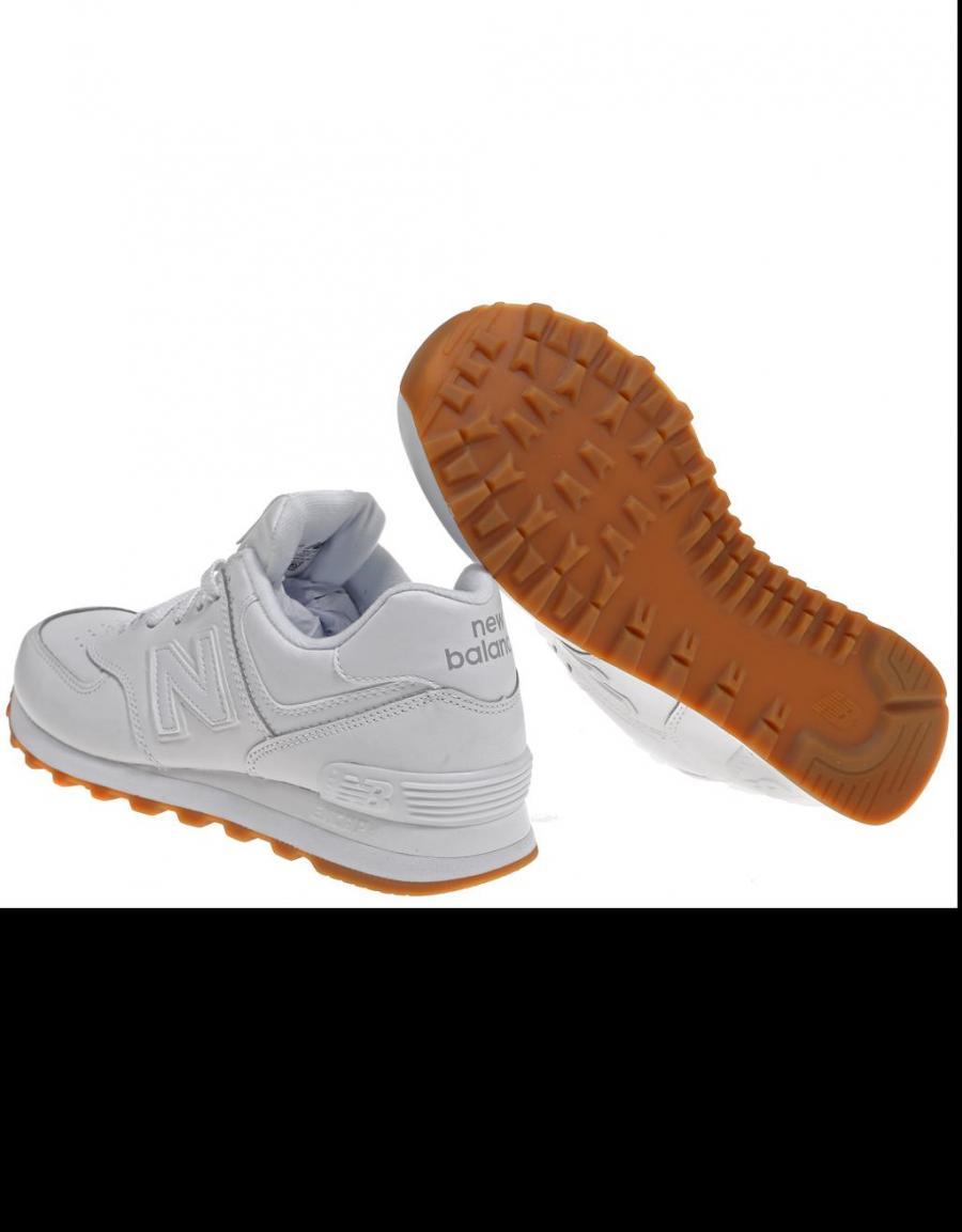 lowest price 8cf5e e7de3 New Balance Nb574 Baa, zapatillas Blanco Piel | 56996 | OFERTA