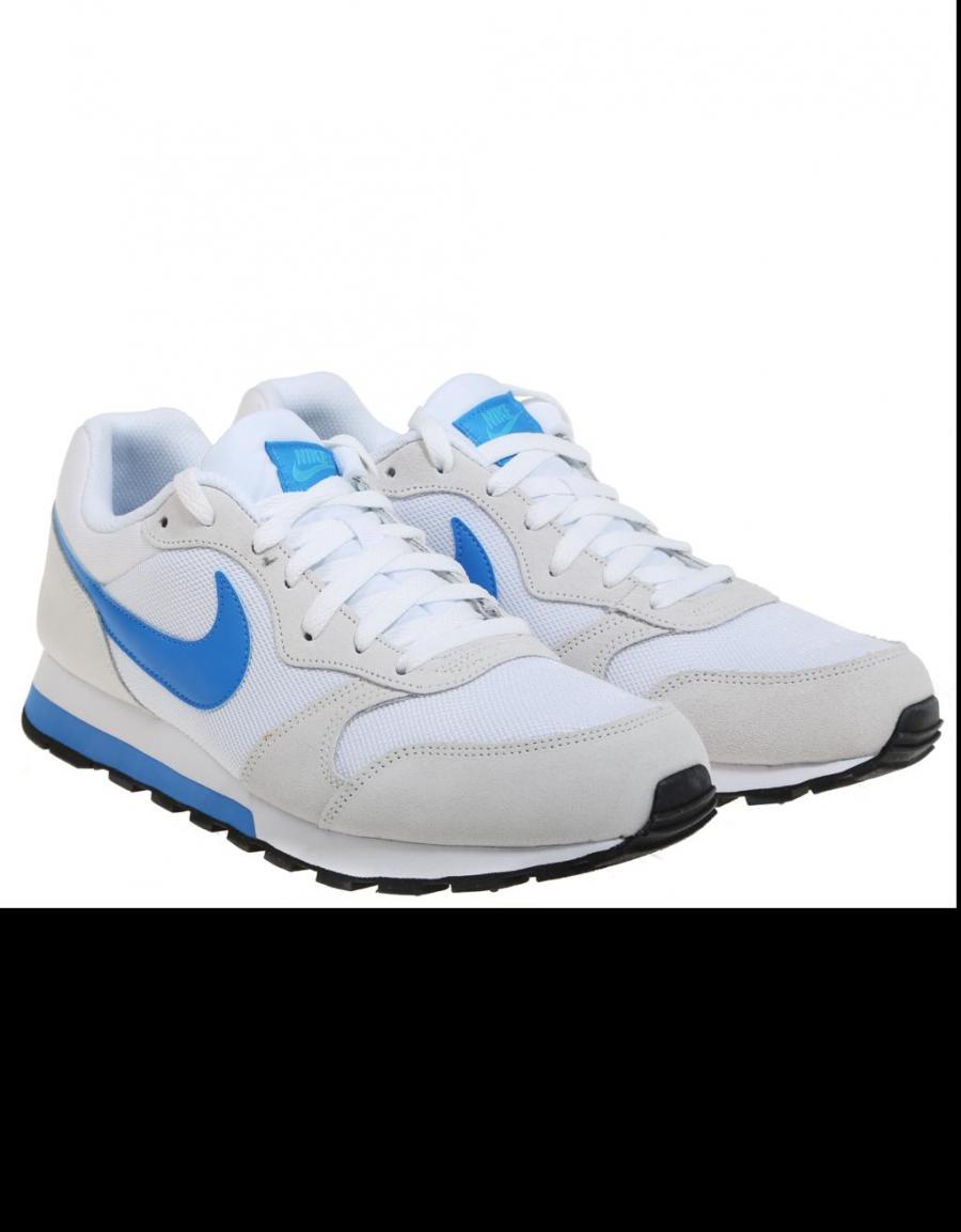 Nike Md Runner 2, zapatillas Blanco Lona | 57919