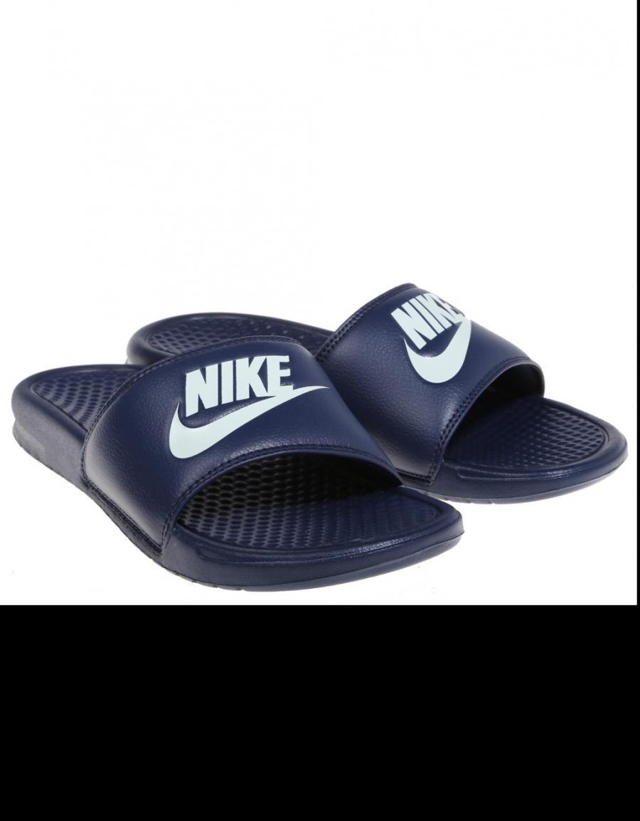 entrega a domicilio atlántico difícil  Nike Benassi Jdi, chanclas Azul marino Lona | 57932 | OFERTA