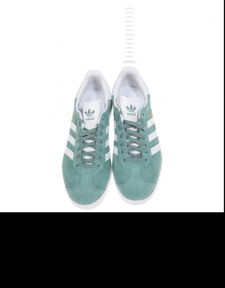 Verde Zapatillas Adidas 60739 Oferta Gazelle Serraje 4On6q