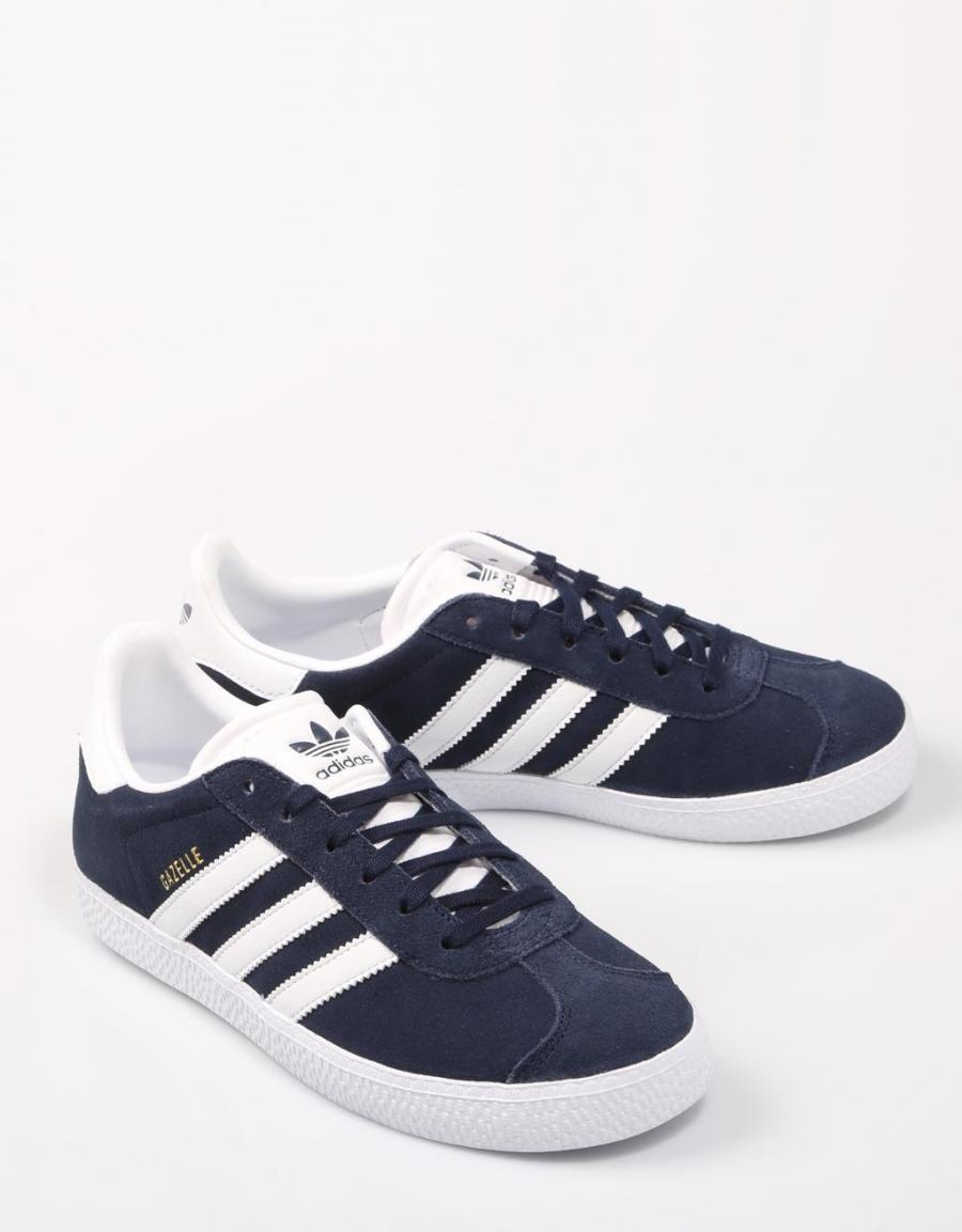 sports shoes 13ab8 0cbdc ADIDAS Gazelle, zapatillas Azul marino Serraje   60856