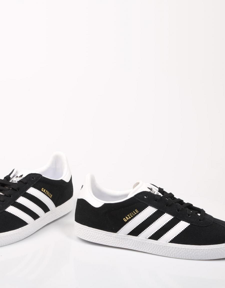 60857 Adidas Lona Zapatillas Gazelle Negro 4wwI6fq