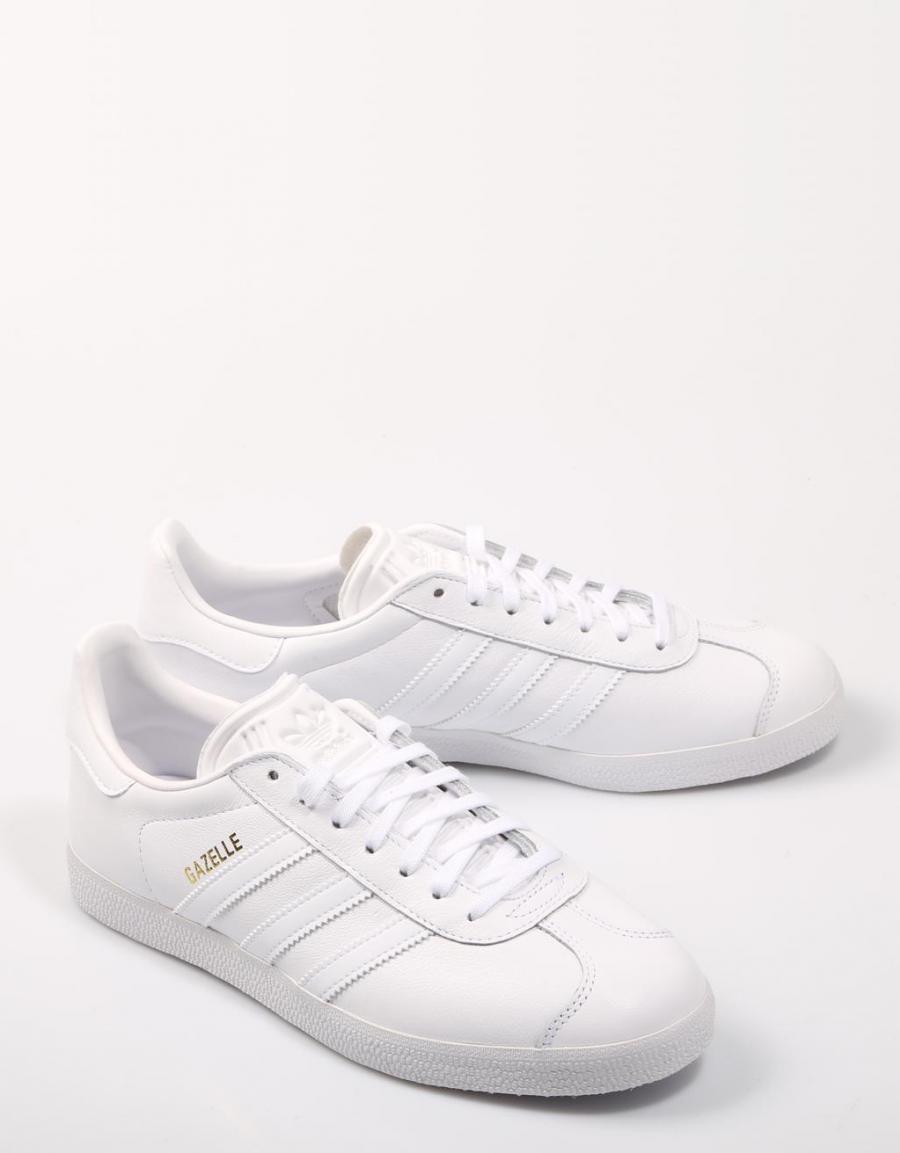 adidas gazelle todas blancas