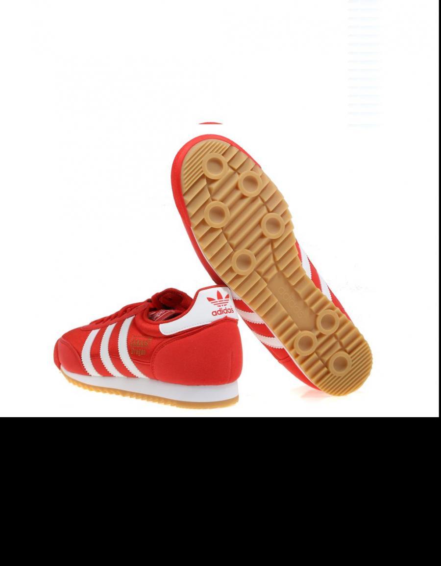 zapatillas adidas dragon rojas