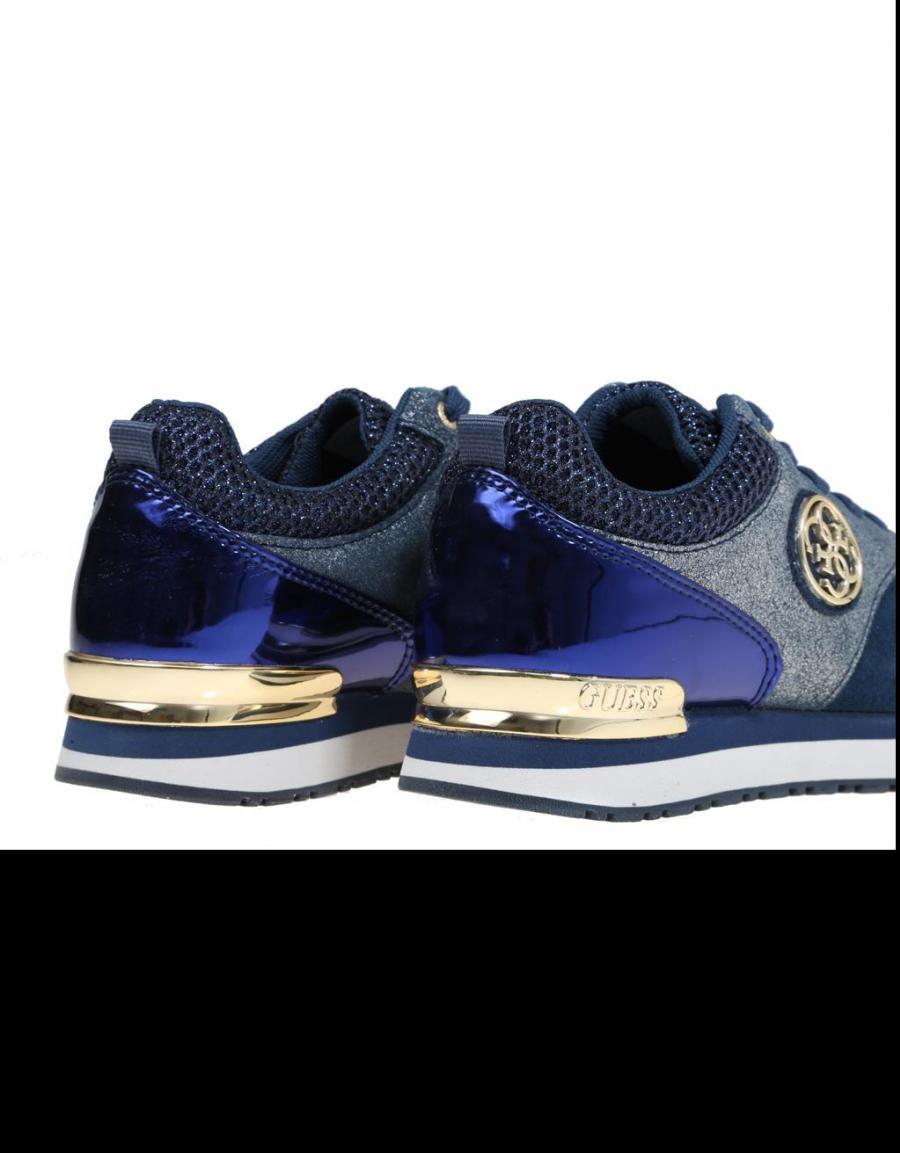 Guess - Zapatillas para mujer Azul azul xAxgG