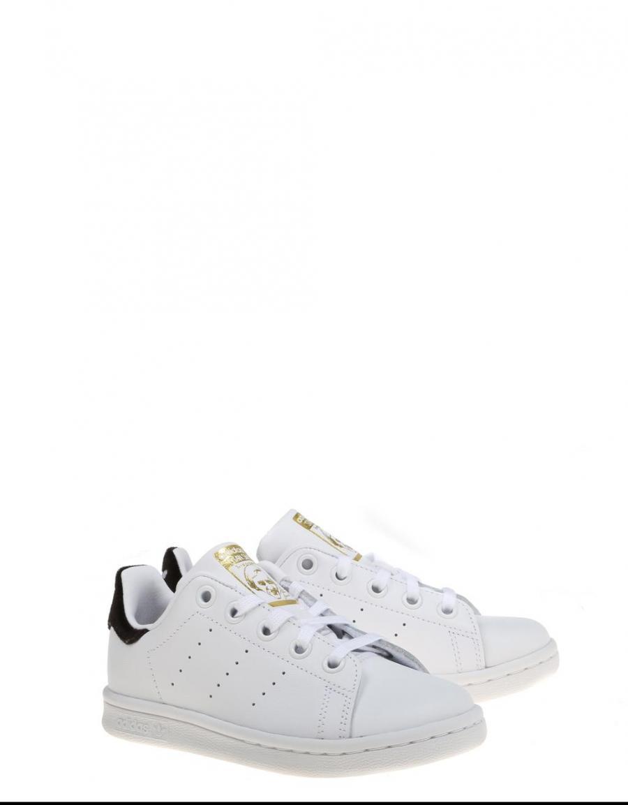 zapatillas C adidas STAN SMITH C zapatillas Blancas y talonera negra 120f7c