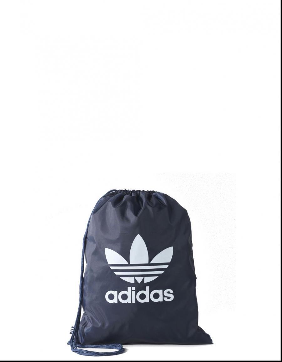Adidas TrefoilBolsa Gymsack Marino Lona63626 Azul 54RqA3jL