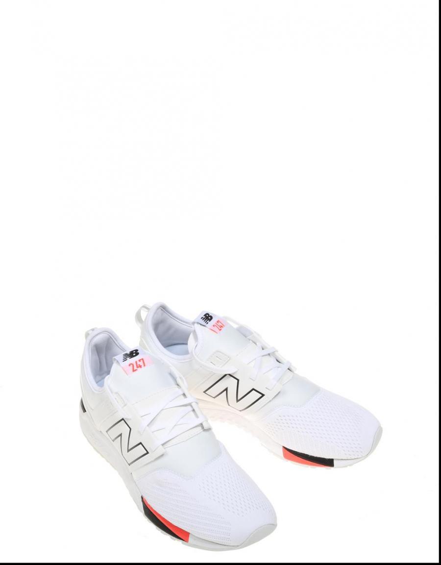 zapatillas hombre new balance blanca