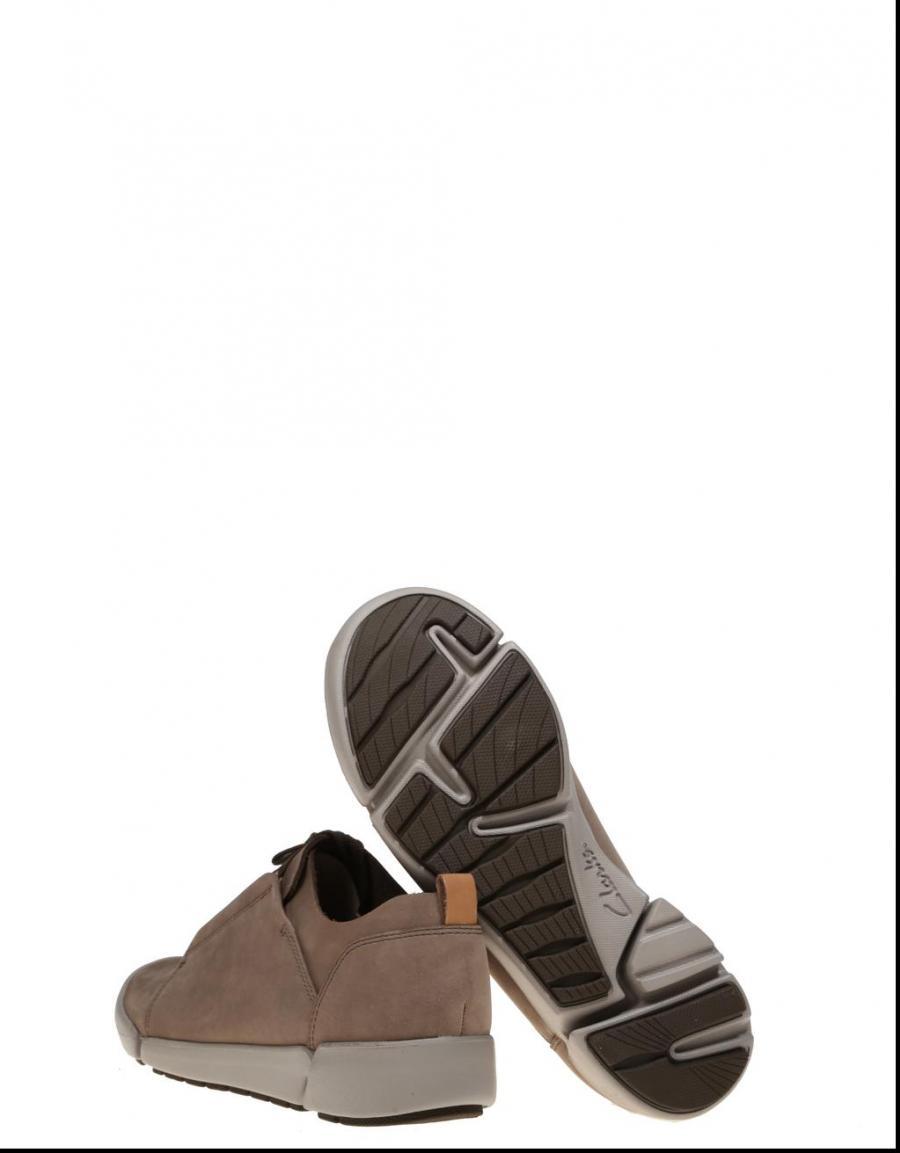 Clarks Tri Bella, zapatillas Taupe Piel | 65229 | OFERTA