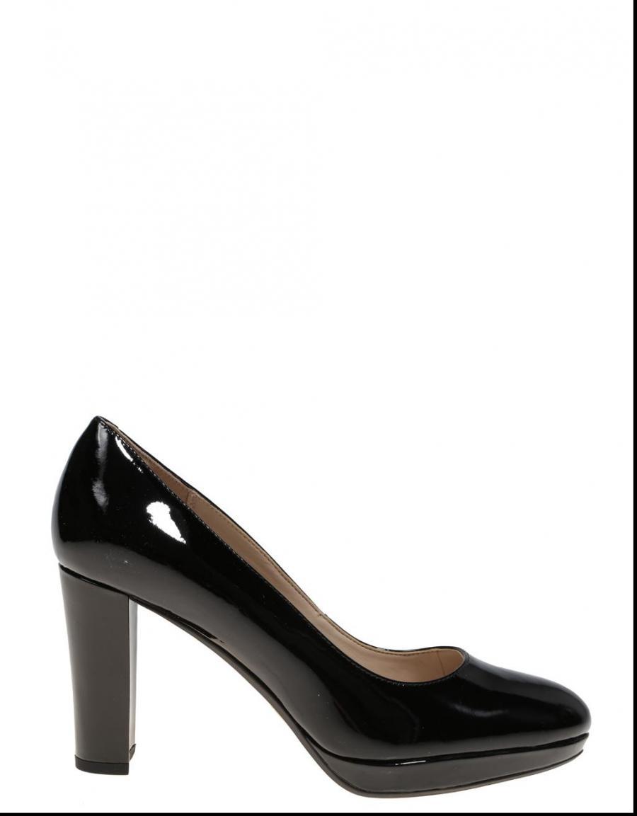 65231 Sienna Kendra Charol Clarks Zapatos Negro XanBPx4Wz