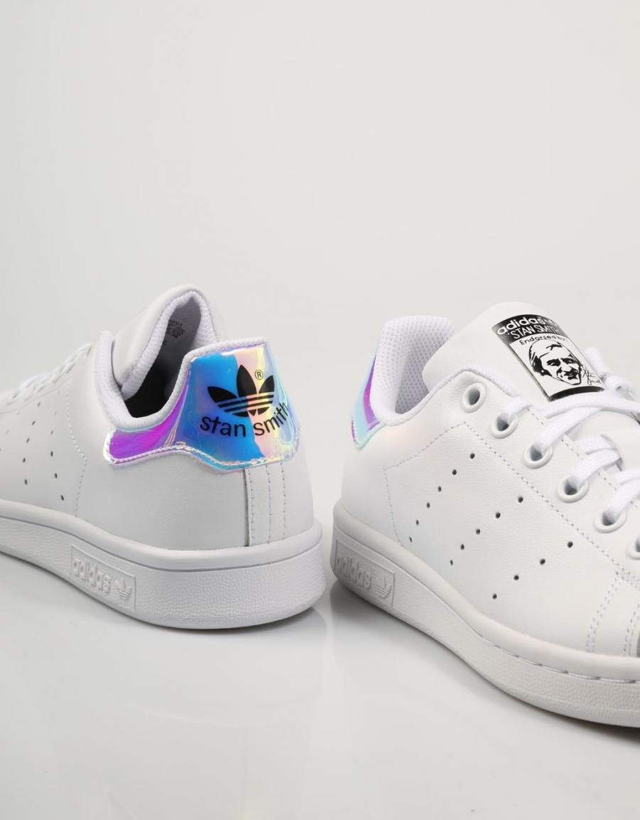 Blanco Piel 65636 Adidas Smith Zapatillas Stan wA4pxxHqY