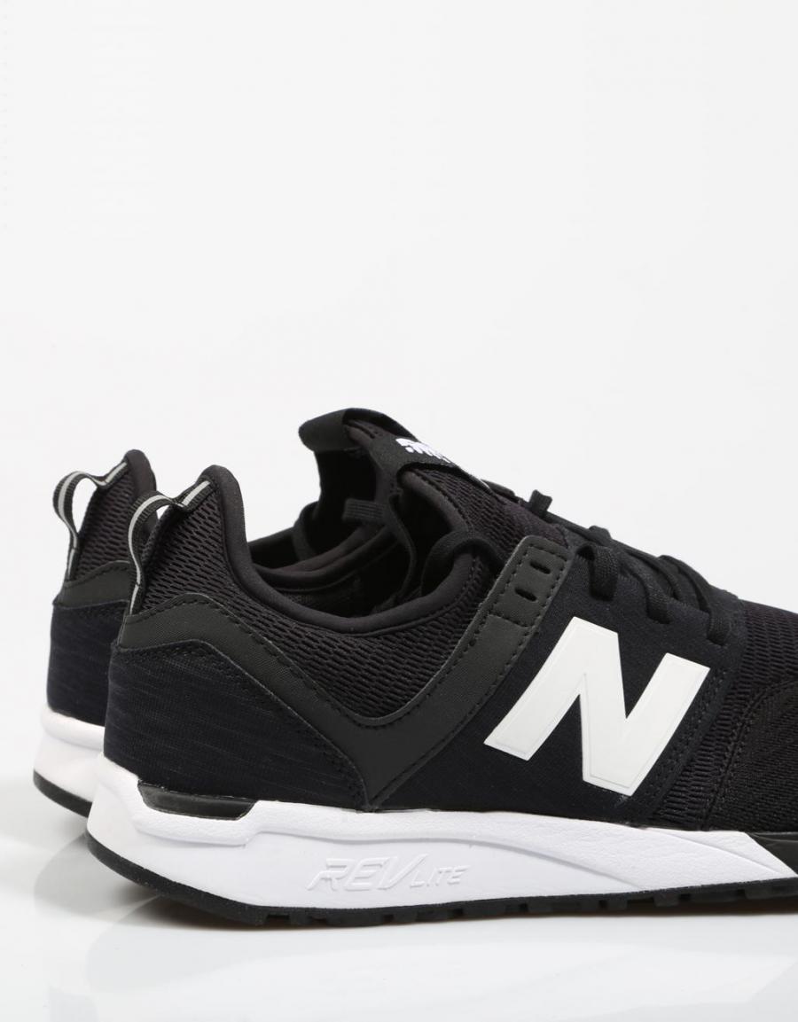 247 Mid new-balance el-negro Ami Alexandre Mattiussi zapatillas con correas autoadherentes - Blanco Ghoud zapatillas bajas - Gris farfetch el-gris Hfis9