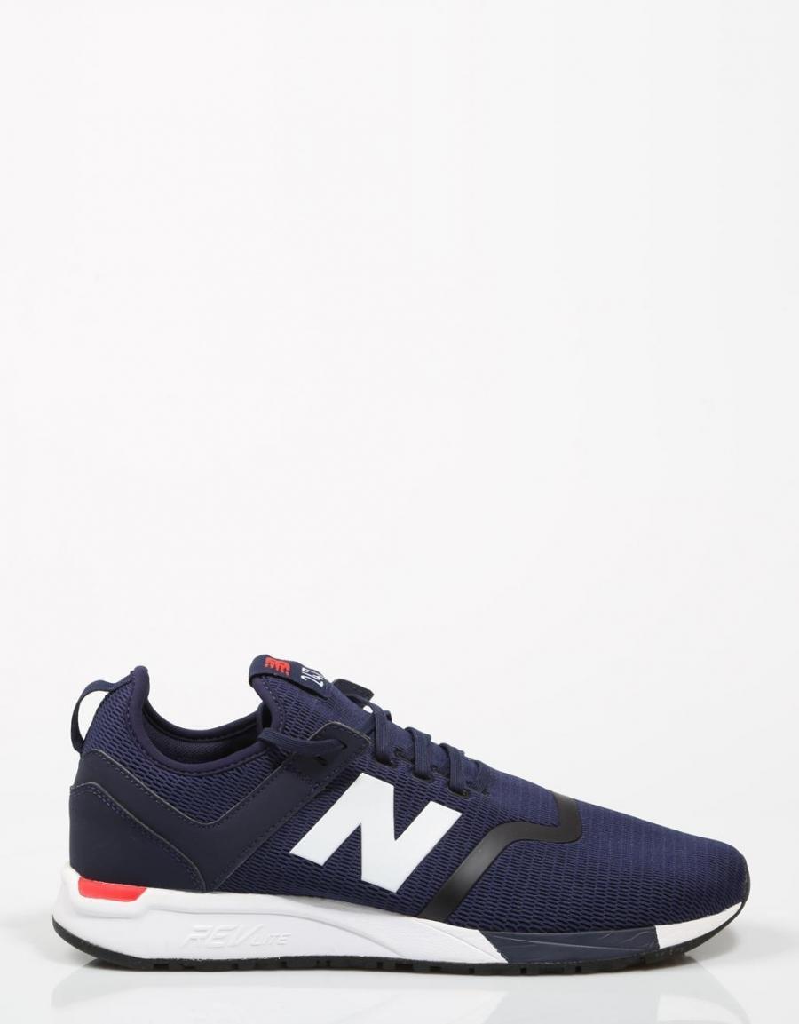 new balance hombres zapatillas azul marino