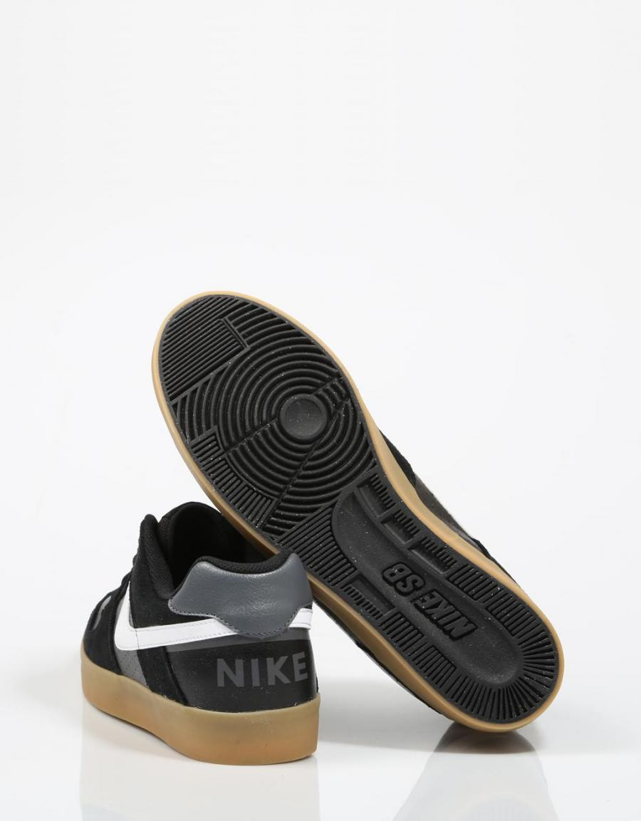 Nike Delta Force, zapatillas Negro Piel | 66080 | OFERTA