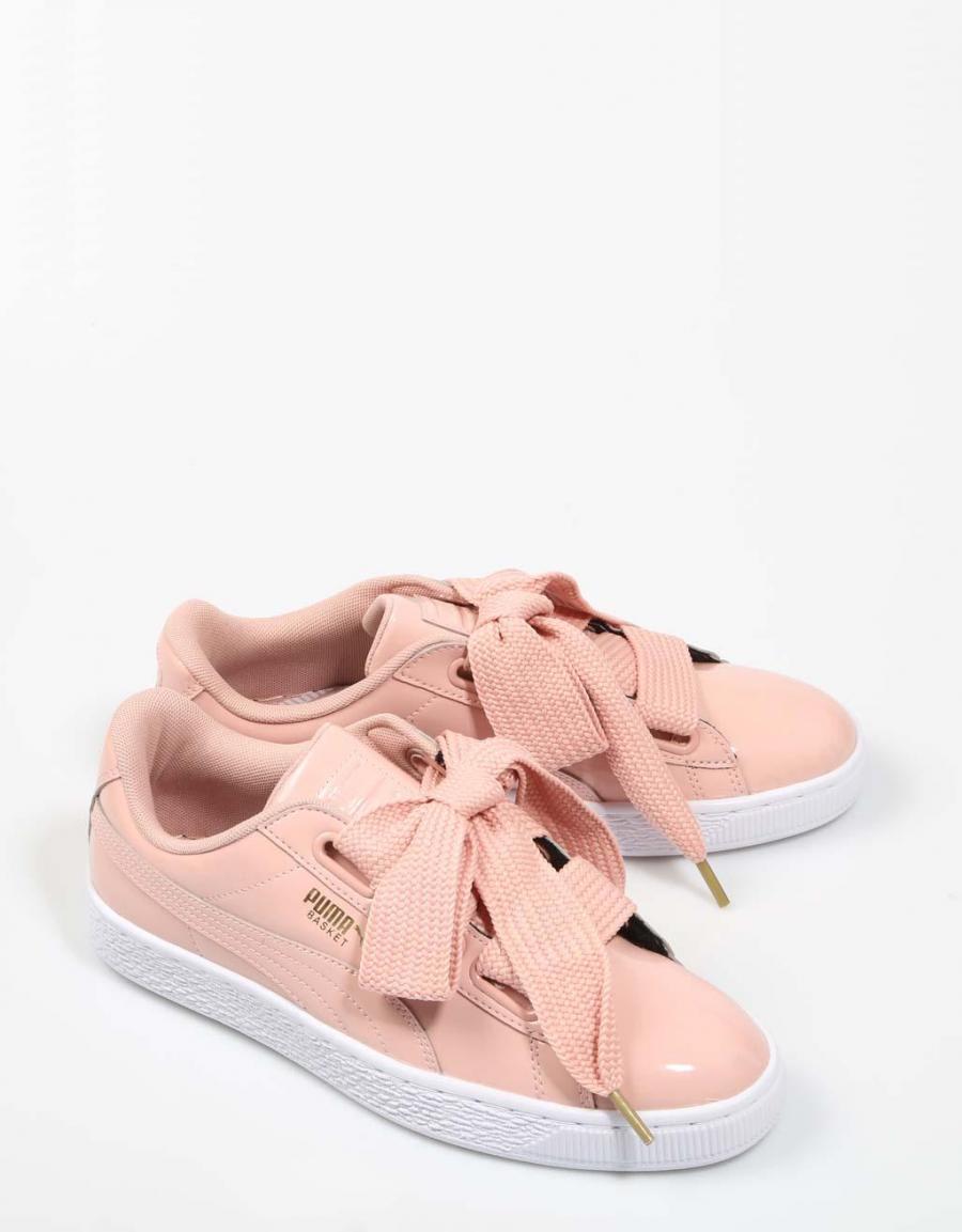 zapatillas puma rosa charol