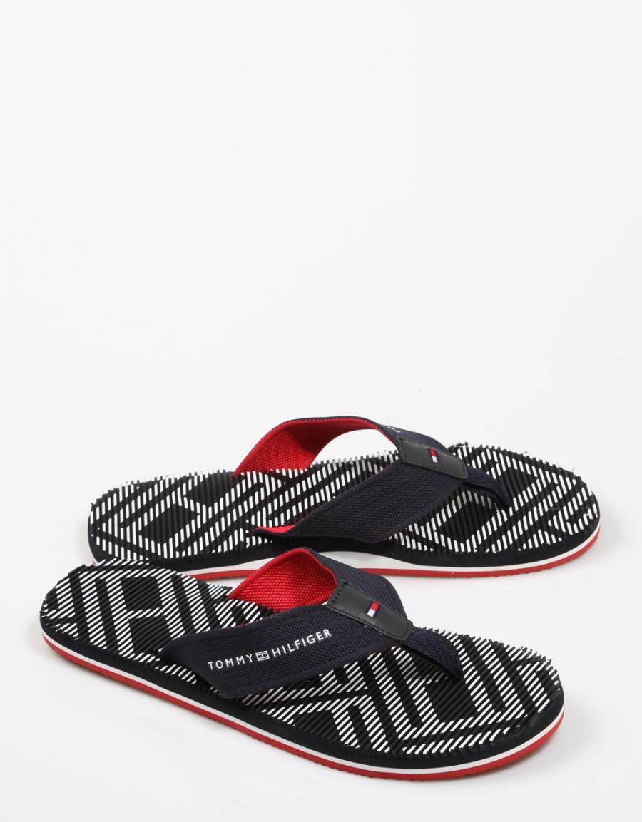4ce660d0033 Tommy Hilfiger Corporate Stripe Beach Sandal