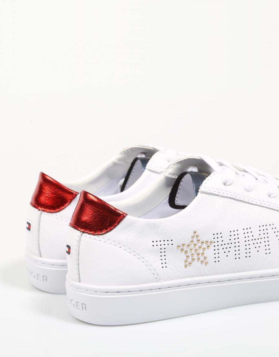 5a5ad43fb889 Tommy Hilfiger Tommy Star Metallic Sneaker   66605   OFERTA
