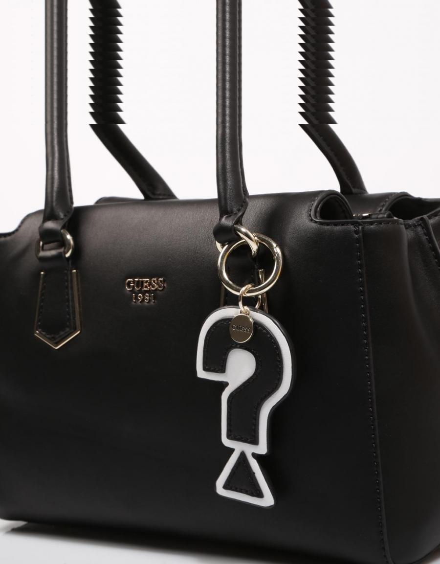Bolso Hwvg6876060 Piel 8zzez Negro Guess Bags 67364 KcTF31lJ