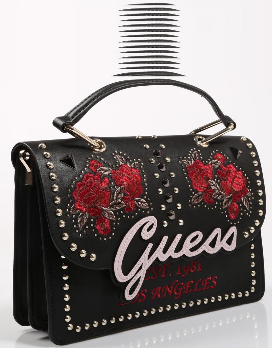 OfertaGuess FlapBolso Top Negro67385 Bags Love Handle In lK3FJu51cT
