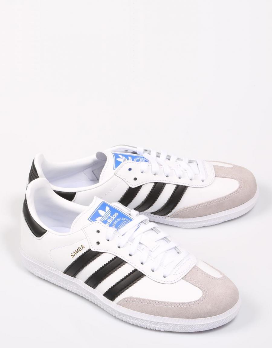 adidas samba blanco blanco