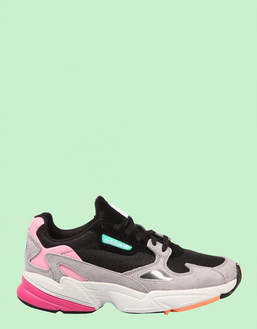 first rate ed9c7 b032a spain zapatillas adidas falcon w negras mujer originals f47ea c6c20 coupon  for adidas falcon zapatillas multicolor piel 67486 476c5 e98a5