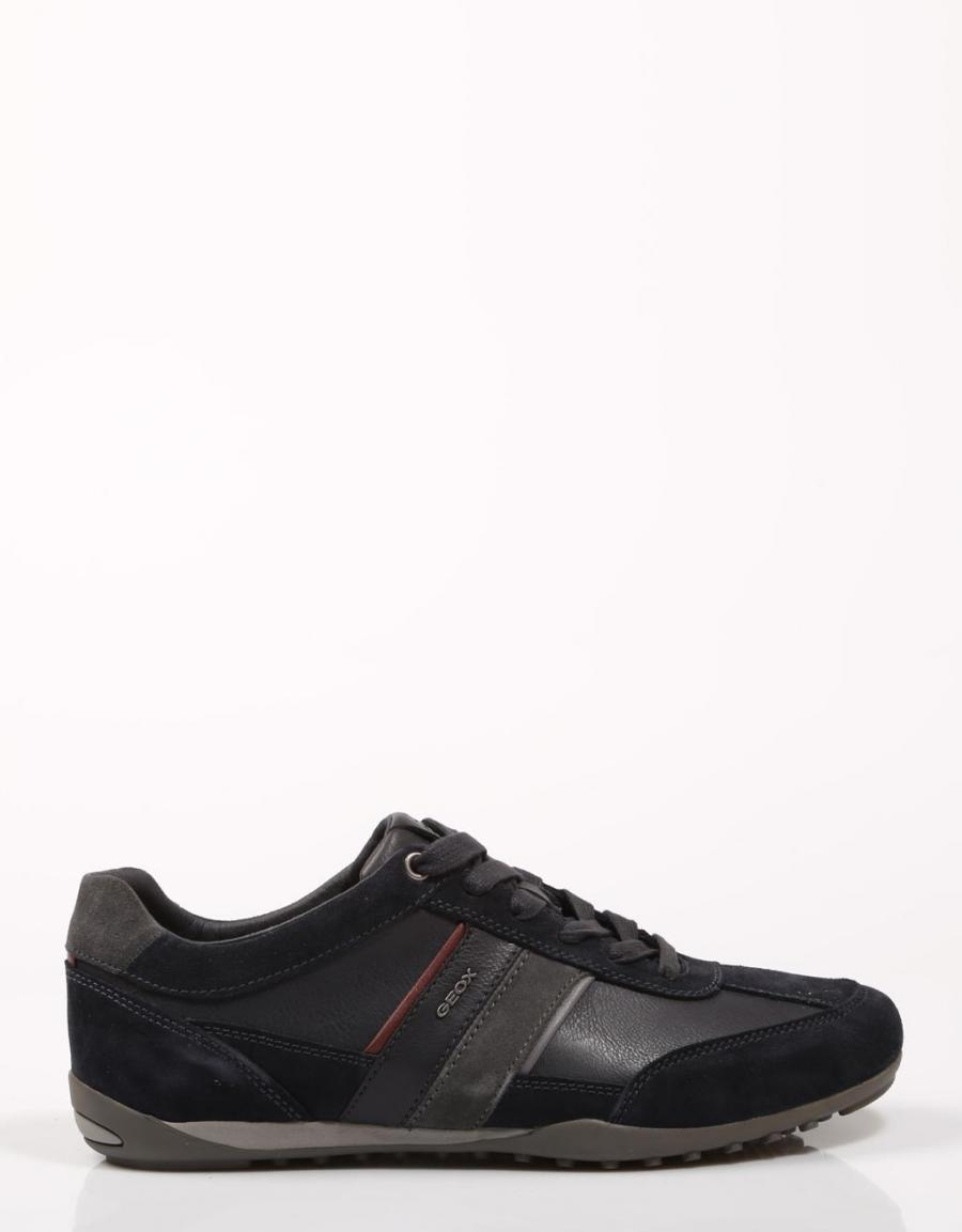 Marino Azul U52t5c Sport Geox 67621 Wells Zapatos xqTwCP1