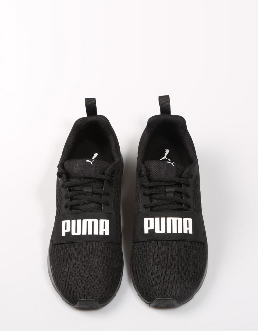 Puma Wired, zapatillas Negro Lona | 67637 | OFERTA