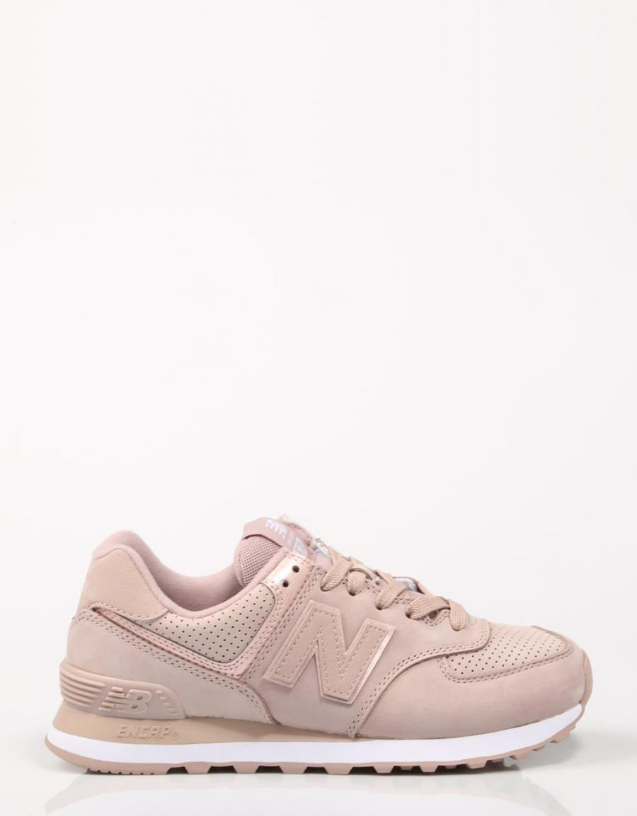 new balance 574 mujer rosa