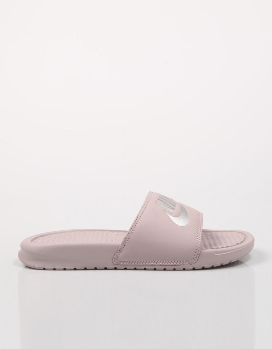 Nike Wmns Benassi Jd, chanclas Rosa Polipiel   67799