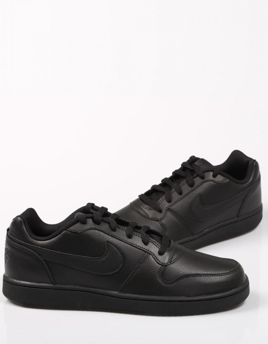 Servicio Adelante En lo que respecta a las personas  Nike Ebernon Low, zapatillas Negro Polipiel   67867   OFERTA