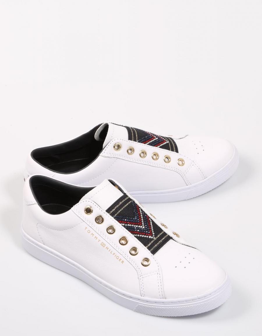 2b29ff3578726 Tommy Hilfiger Stud Elastic Essential Sneaker | 67932 | OFERTA