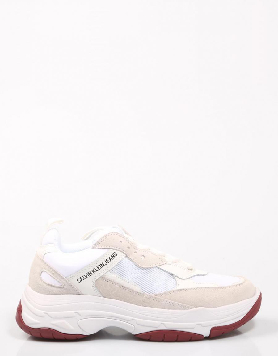 Calvin Klein Marvin, zapatillas Blanco Lona | 67957 | OFERTA