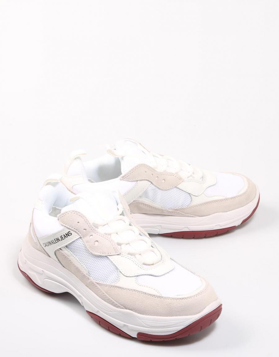 Calvin Klein Marvin, zapatillas Blanco Lona   67957   OFERTA