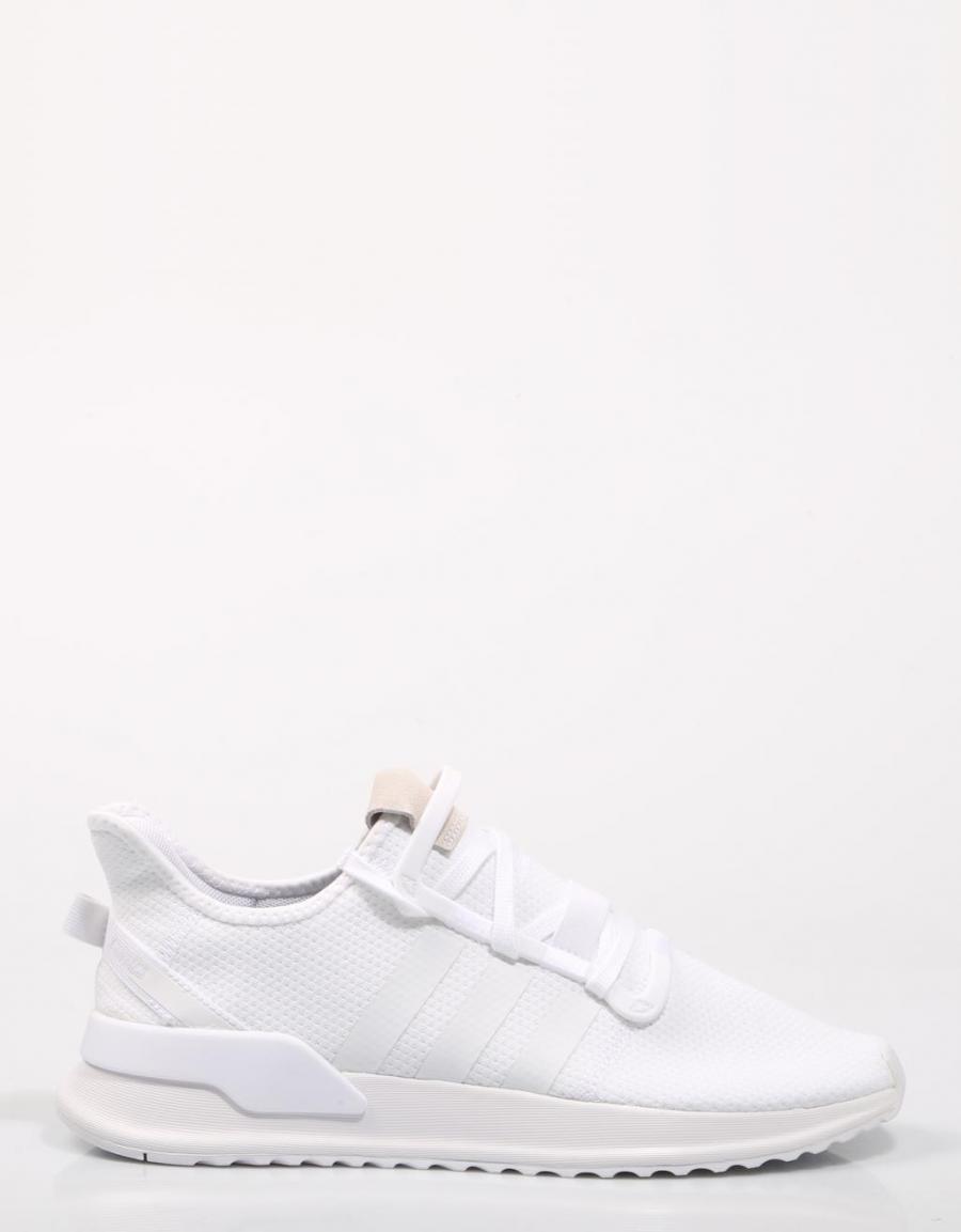 tolerancia mezclador aguacero  ADIDAS U Path Run J, zapatillas Blanco Lona   68541