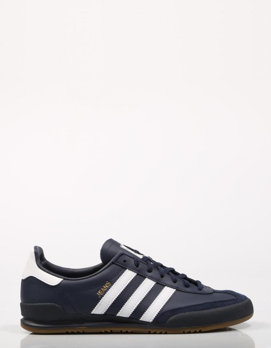 ADIDAS Jeans, zapatillas Azul marino Piel | 68597 | OFERTA