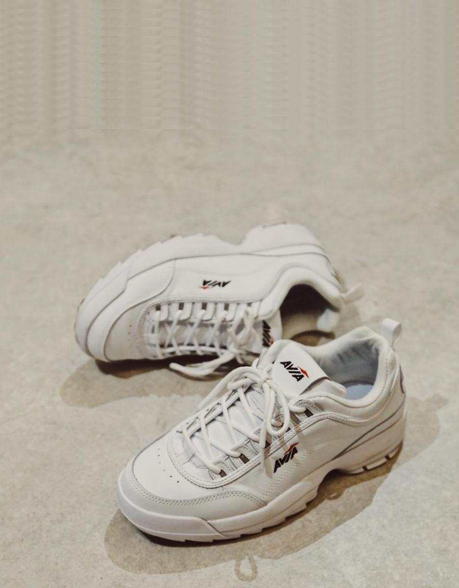 Avia Av100, zapatos sport Blanco Polipiel | 68616 | OFERTA