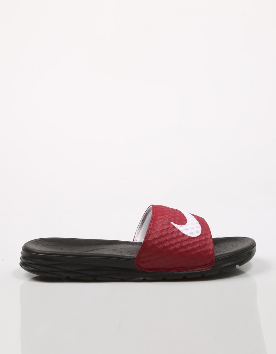 espina solapa Demon Play  Nike Benassi Solarsoft, chanclas Rojo Polipiel   69181