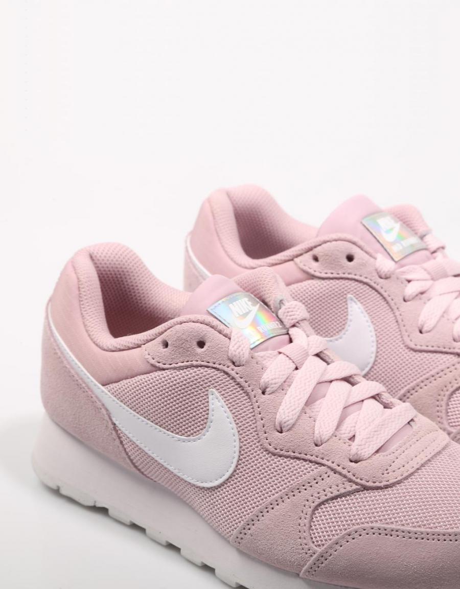 Zapatillas Nike MD Runner 2 rosa blanco mujer