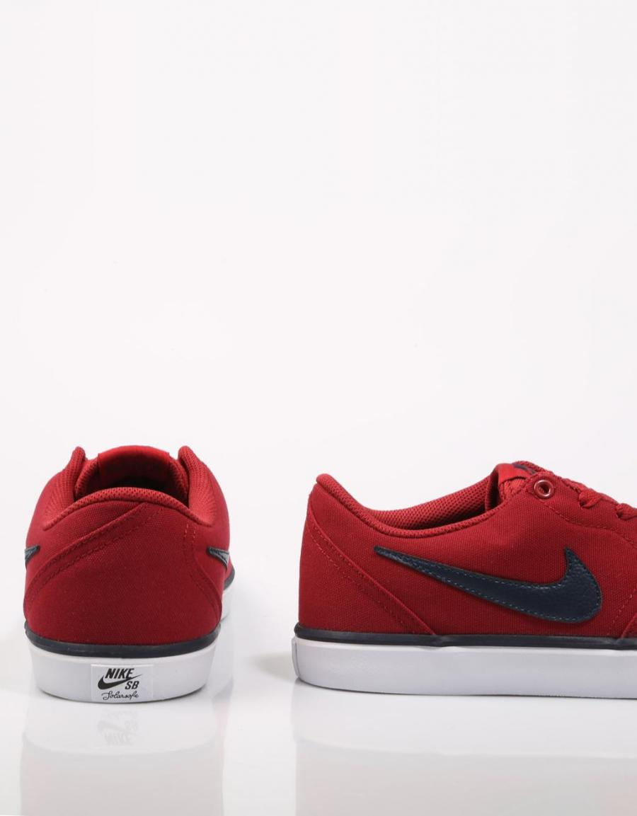 Nike Check Solar, zapatillas Rojo Lona | 69205