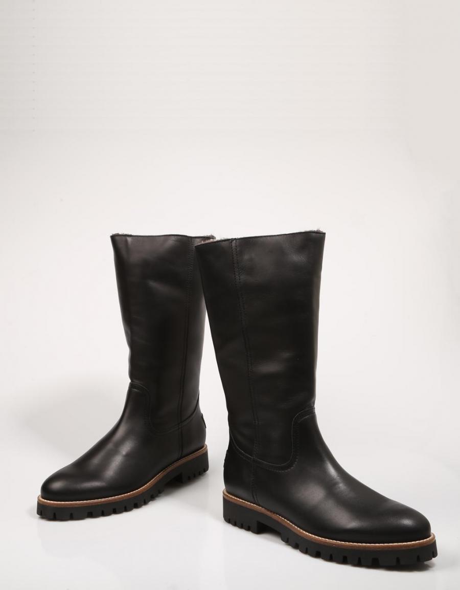 Panama Jack Tania B18, botas Negro Piel | 71222