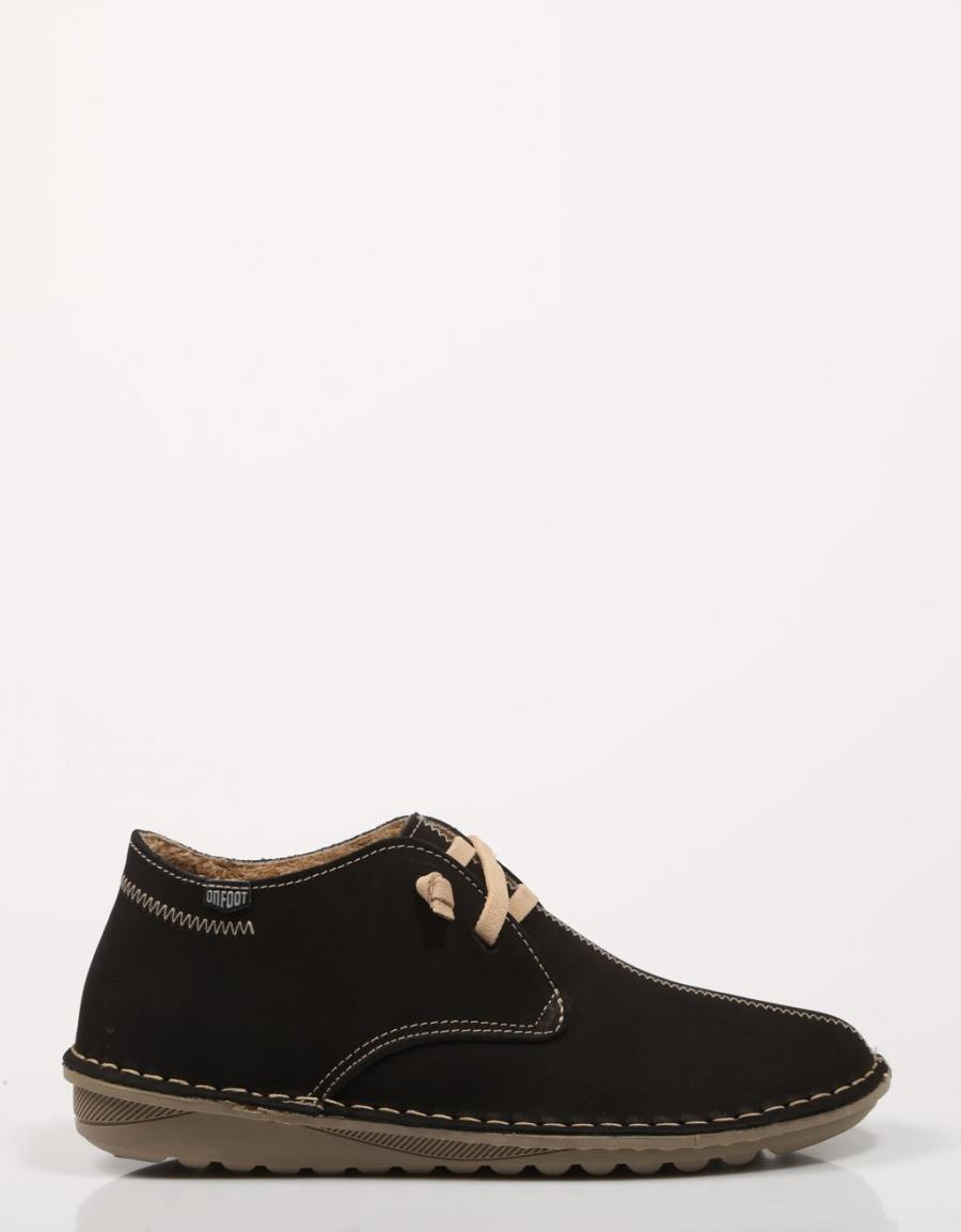 On Foot 20800, botines Negro Piel | 71290 | OFERTA