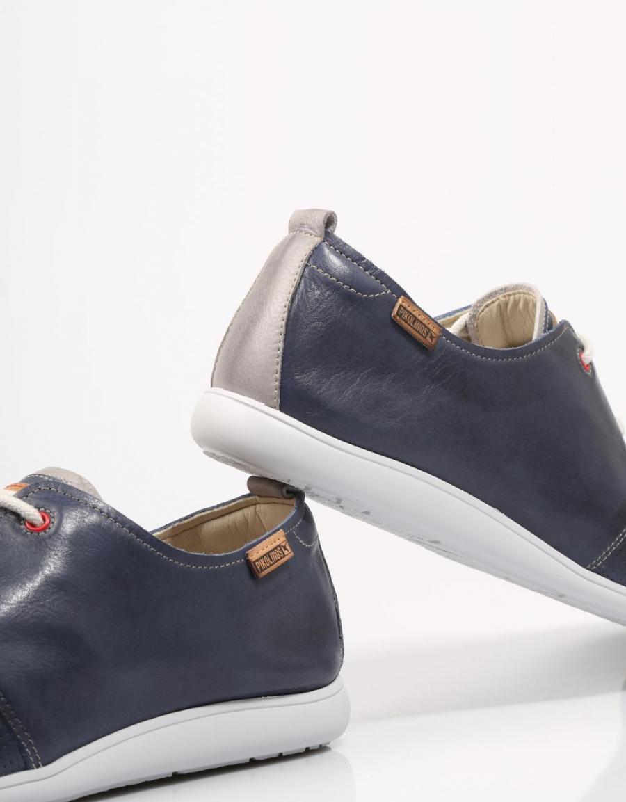 Pikolinos Faro, zapatos Azul marino Piel   72405