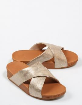 SANDALIAS LULU CROSS SLIDE SANDALS